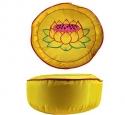Lotus geel polyester 33x17