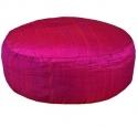 Ruwe zijde roze 33x17
